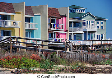 Coast near Galveston, Texas