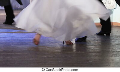 Ballroom dancing - Performances of ballroom dancing on floor