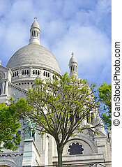 Sacre Coeur Cathedral, Paris France