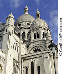 Sacre Coeur Cathedral, Paris France