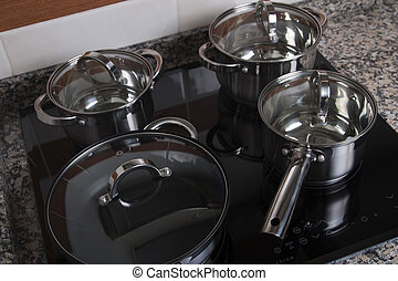 electrical kitchen induction ceramic hob