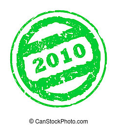 Used 2010 stamp