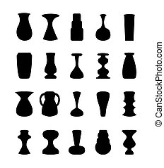 Different slyle of vases