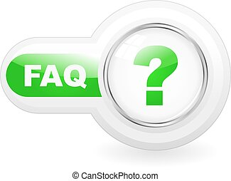 FAQ icon Usable for web design