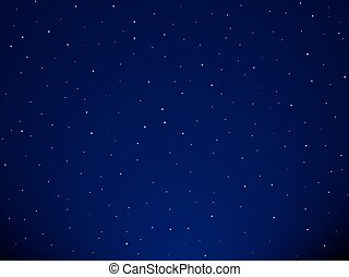Starry sky - Background of the starry sky
