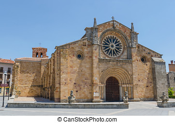 San Pedro church avila - San Pedro church in the city of...