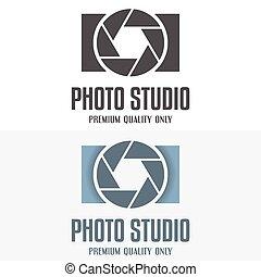 Set of vintage and modern logo, icon, emblem, label or...