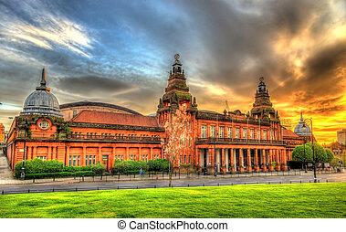 vestíbulo, Kelvin, mixed-use, Escocia, artes, deportes,...
