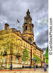 The Sessions House, a courthouse in Preston, Lancashire,...