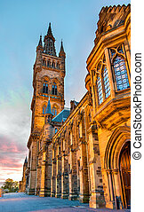 University of Glasgow Main Building - Scotland