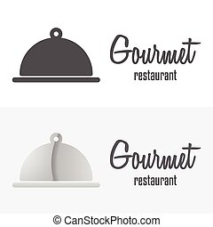 Set of logo and logotype elements for restaurant, cafe or...