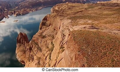 Lake Powell near Hole in the Rock Utah - Lake Powell near...