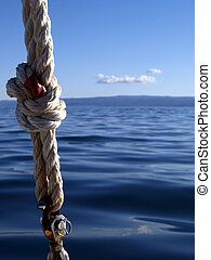 knot - of the boat rope