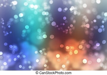 Abstract colorful light background with beautiful glitter...