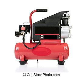 Air compressor pressure pump tool isolated - An Air...