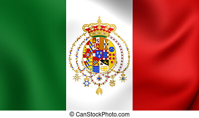 Kingdom of the Two Sicilies Flag - Kingdom of the Two...