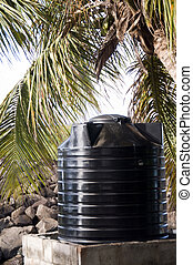 plastic water tank storage system caribbean islands -...