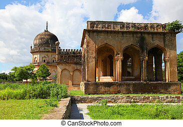 Qutbshahi tombs in Hyderabad - Historic Qutbshahi tombs in...