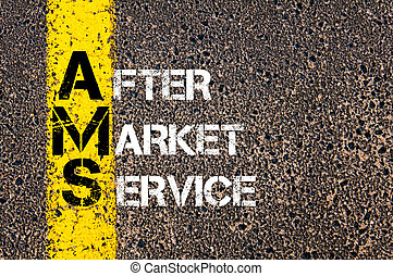 Business Acronym AMS as After Market Service - Business...