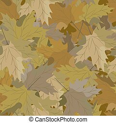 camouflage background maple.eps