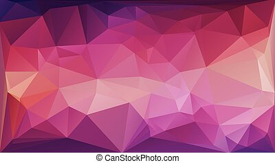 Colorful Polygonal Mosaic Background, Vector illustration,...