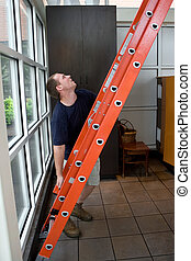 Setting Up a Ladder