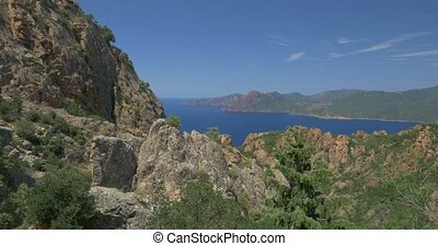4K, Galeria Viewpoint, Corsica, Pans, Zooms, Tilt, Jib-Moves