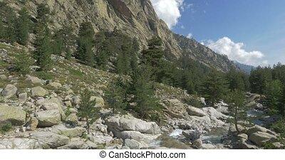 4K, Restonica Valley, Corsica - Native Camera Output, 4K,...