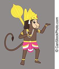Anjaniputra Hanuman - Indian God - Anjaniputra Hanuman - An...