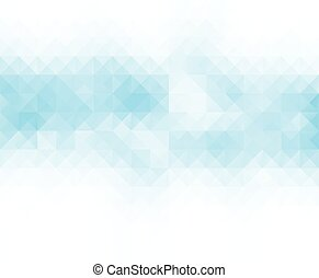 Blue White Block Grid Mosaic Background, Creative Design Templates