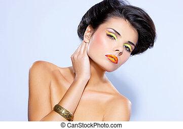 modelo, Moda