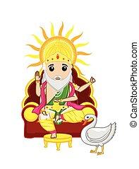 Vishwakarma Day - Indian God