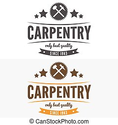 Vintage logo, label, badge and logotype elements for...