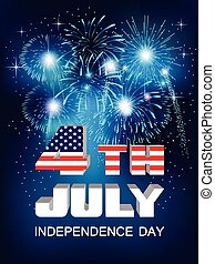 Fourth of July - American Independence Day celebration....