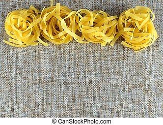 types italian pasta - varius types italian pasta
