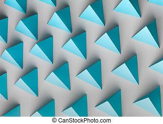 pirámide, Plano de fondo,