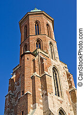 Mary Magdalene church in Budapest, Hungary - Tower of Mary...