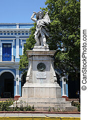Monument Matanzas Cuba - Monument of the unknown Soldier in...
