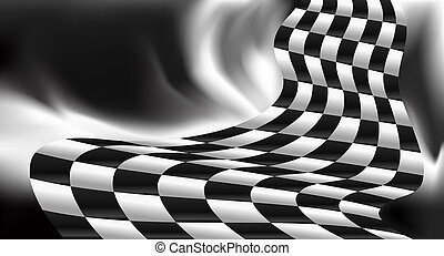 race background checkered flag design - race background...