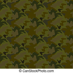 Camouflage seamless pattern background vector
