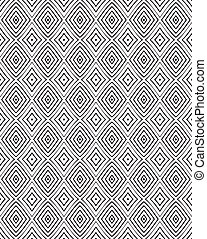 seamless optical art pattern vector background