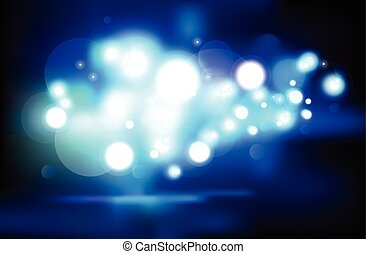 abstract lights background vector design