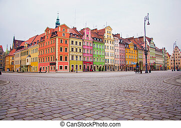 Wroclaw - Old Town in Wroclaw, Poland