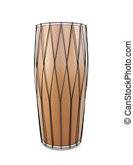 Indian drum front view