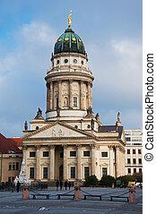 Deutscher Dom at day in Berlin, Germany