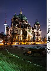 Berlin Dom by Night Nobody