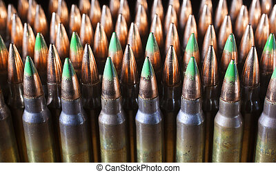 Ammo supply - Big group of rifle cartridges and some have...