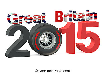 F1 Formula 1 Great Britain Grand Prix in Silverstone 2015 concept
