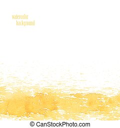 Watercolor background for layout Vector yellow splashes eps...