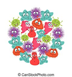 cute infection  design, vector illustration eps10 graphic